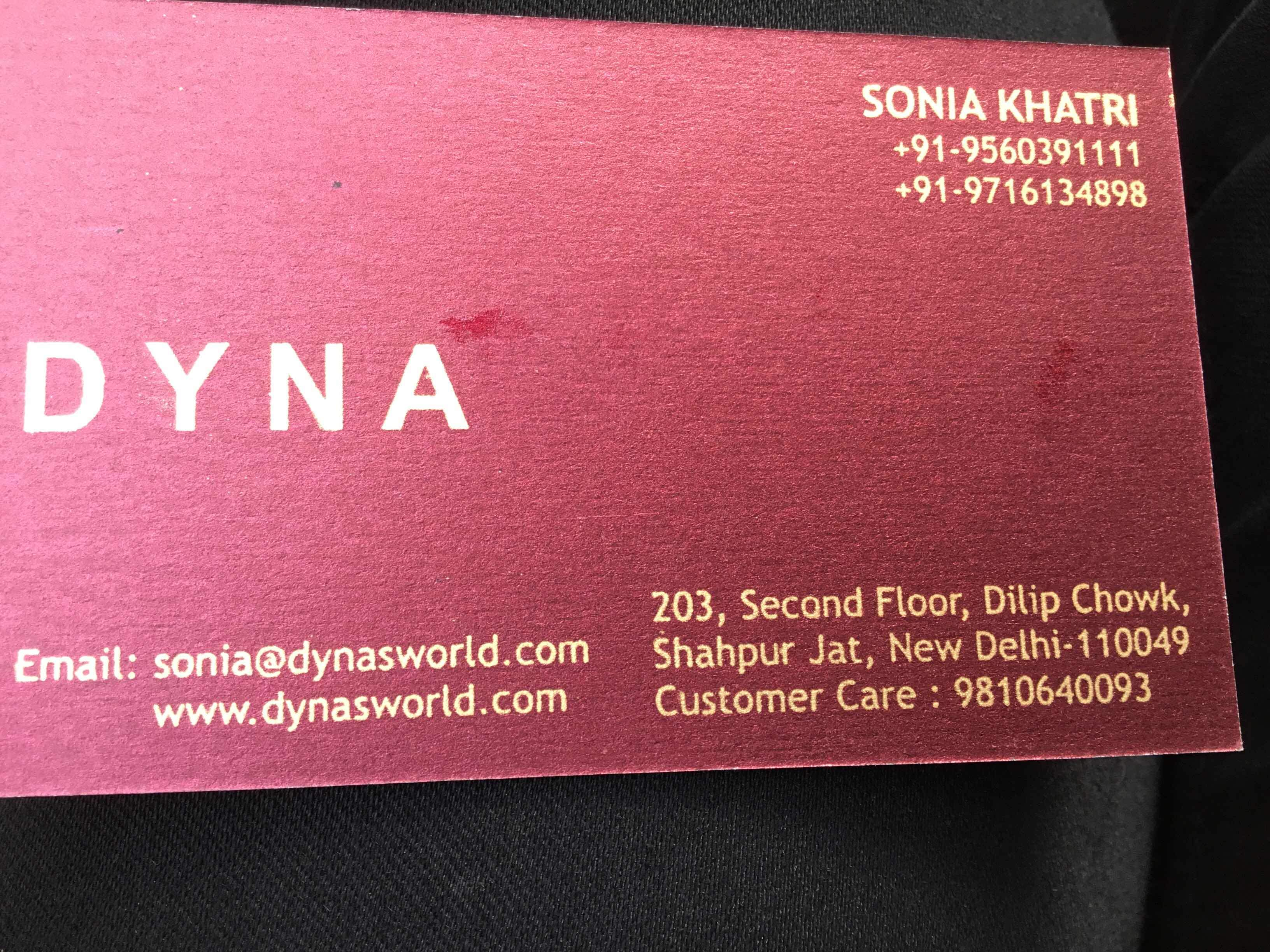 dyna is a fashion brand in shahpur jat